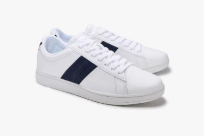 Zapatillas Lacoste hombre blancas