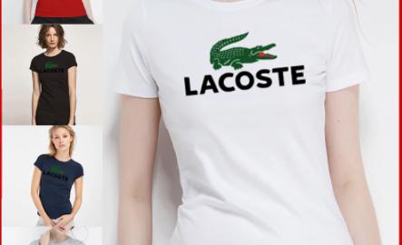 camiseta lacoste mujer multicolor